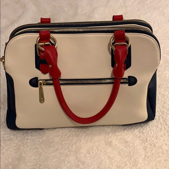 Charming Charlie Bags Red White And Blue Purse Poshmark